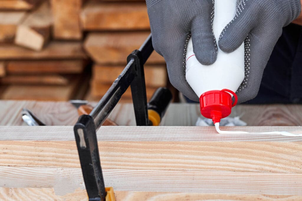 how to make wood glue dry faster