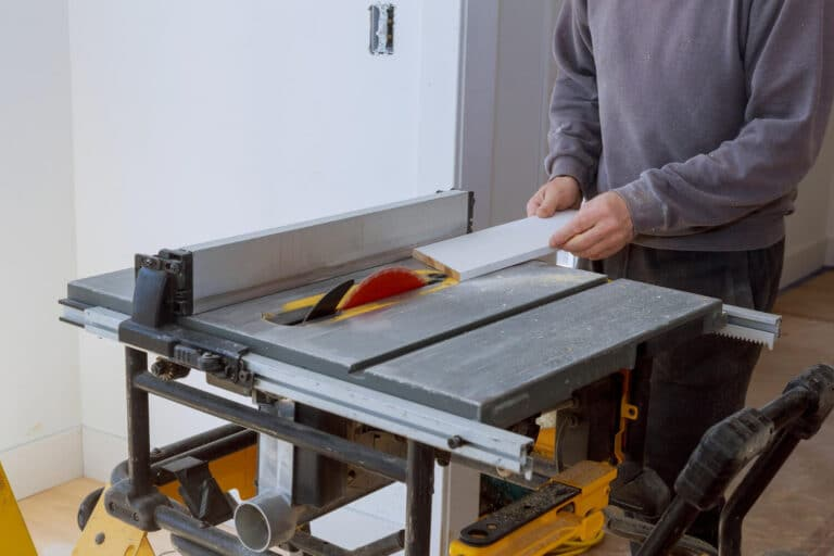 types of table saw